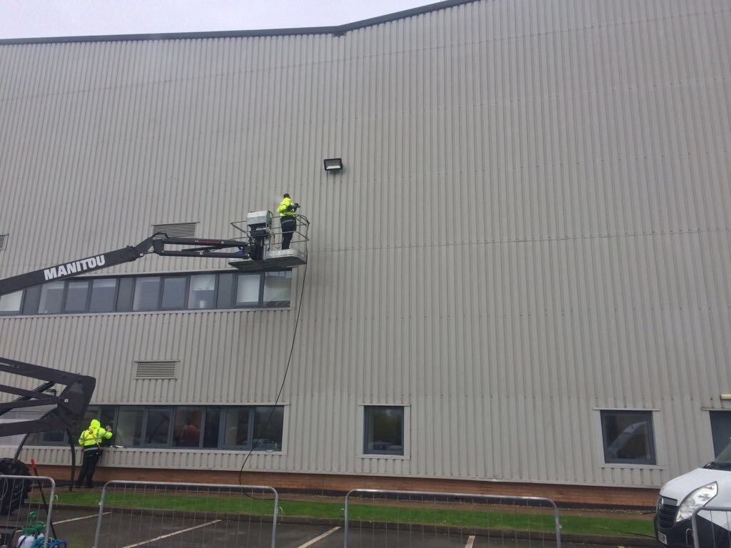 IMI Cladding Cleaning Fradley Distribution Park